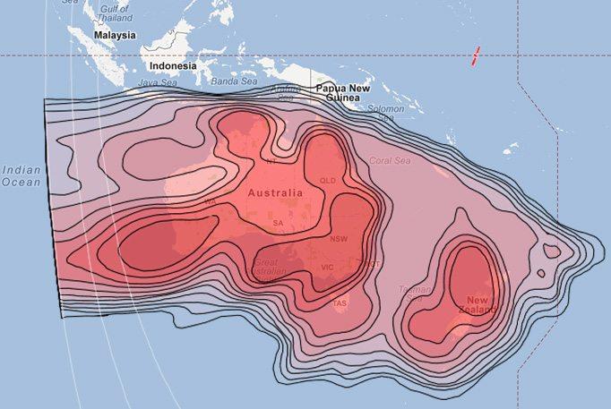Oceania VSAT Coverage – Satellite Internet