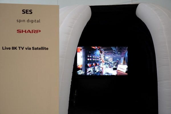 SES demonstrates its first 8K broadcast in partnership with Spin Digital