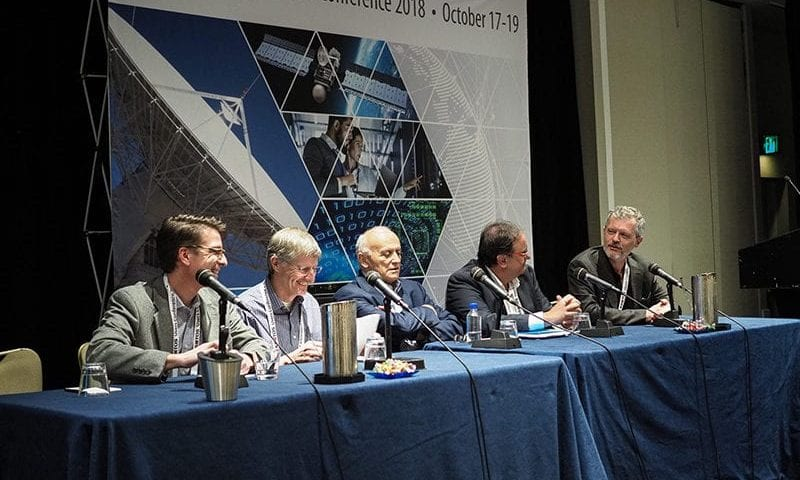 A panel at the 2018 Kratos Global Users Conference. Photo: Kratos